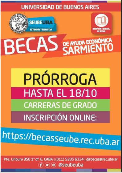 Becas Sarmiento