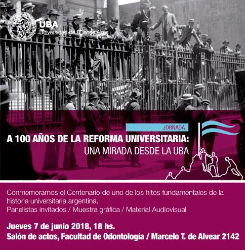 100 Años Reforma Universitaria UBA